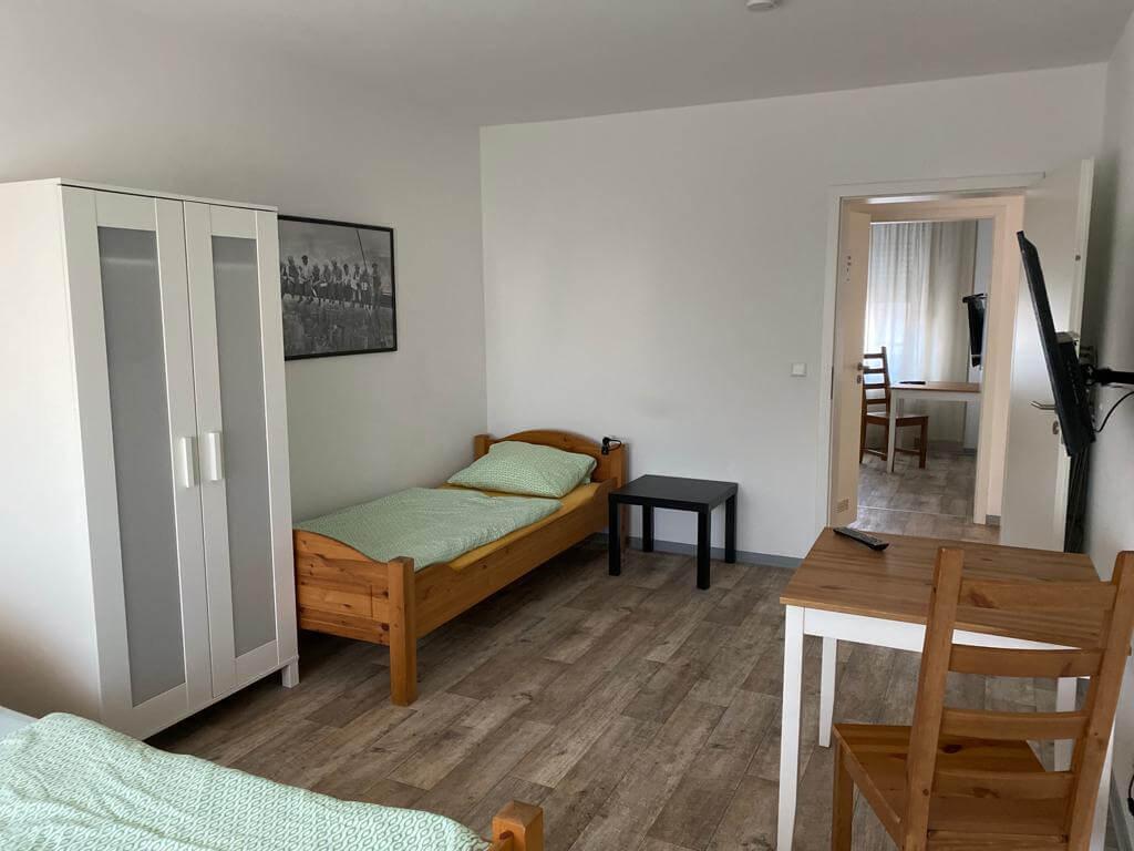 Doppelzimmer Monteurzimmer Mannheim